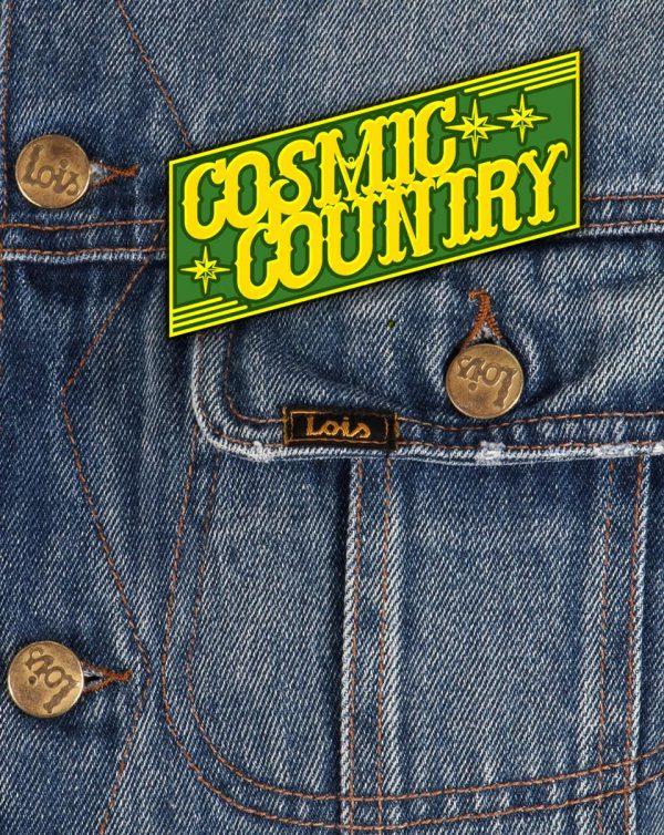 Cosmic Country Pin #1